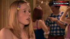 1. Lisa Backwell Topless – Skins