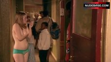 10. Lisa Backwell Topless – Skins