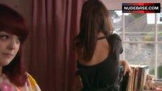 9. Lisa Backwell Lingerie Scene – Skins