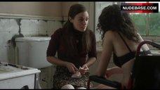 Amy Manson in Black Bra – Estranged