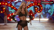 Erin Heatherton in Lingerie and Stockings– The Victoria'S Secret Fashion Show 2012