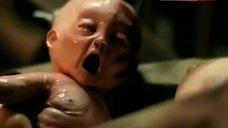 6. Brooke Adams Breast Feeding – The Unborn