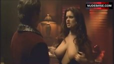 1. Carrie Stevens Shows Nude Breasts – Who'S Your Daddy?