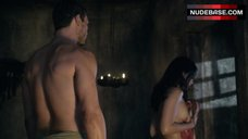 10. Katrina Law Full Frontal Nude – Spartacus