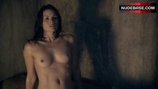 3. Katrina Law Full Frontal Nude – Spartacus