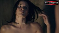 5. Katrina Law Full Frontal Nude – Spartacus
