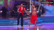 1. Erin Andrews Hot Dance on Stage– Dancing With The Stars