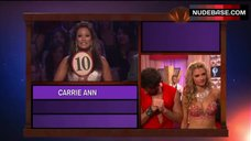 10. Erin Andrews Hot Dance on Stage– Dancing With The Stars