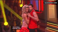 2. Erin Andrews Hot Dance on Stage– Dancing With The Stars