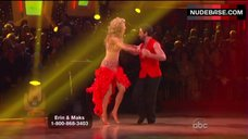 4. Erin Andrews Hot Dance on Stage– Dancing With The Stars