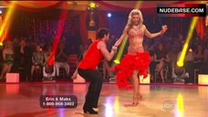 5. Erin Andrews Hot Dance on Stage– Dancing With The Stars