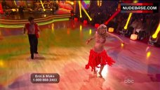 7. Erin Andrews Hot Dance on Stage– Dancing With The Stars
