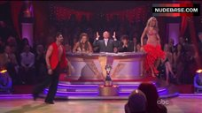 9. Erin Andrews Hot Dance on Stage– Dancing With The Stars
