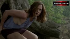 Ruth Wilson Side Boob – The Affair