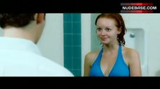 Lindy Booth Nipples Through Wet Bikini – Cry_Wolf