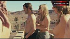 Susanne Bormann Sunbathing Topless – The Baader Meinhof Complex