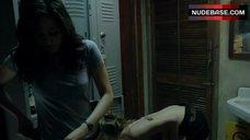2. Emmy Rossum in Pink Bra – Shameless