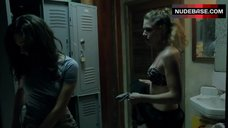 3. Emmy Rossum in Pink Bra – Shameless