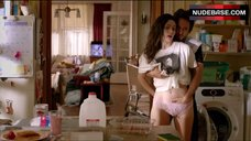 7. Emmy Rossum Shows Pink Lace Panties – Shameless