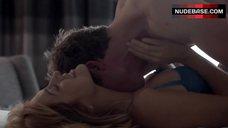 10. Sasha Alexander Sexy in Lingerie – Shameless