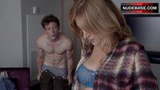 2. Sasha Alexander Sexy in Lingerie – Shameless