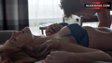 7. Sasha Alexander Sexy in Lingerie – Shameless
