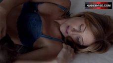 8. Sasha Alexander Sexy in Lingerie – Shameless