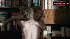 1. Sasha Alexander Hot Sex against Bookshelfs – Shameless