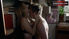 10. Sasha Alexander Hot Sex against Bookshelfs – Shameless