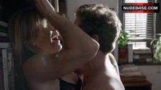 5. Sasha Alexander Hot Sex against Bookshelfs – Shameless