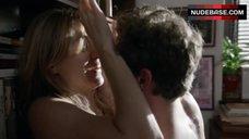 6. Sasha Alexander Hot Sex against Bookshelfs – Shameless