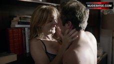8. Sasha Alexander Hot Sex against Bookshelfs – Shameless