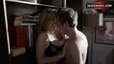 9. Sasha Alexander Hot Sex against Bookshelfs – Shameless