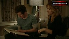 1. Sasha Alexander Shows Hot Lingerie – Shameless