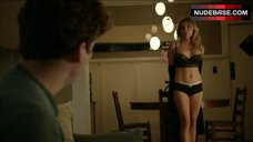 6. Sasha Alexander Shows Hot Lingerie – Shameless