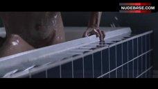 Sharni Vinson Flashes Tits and Pussy – Patrick