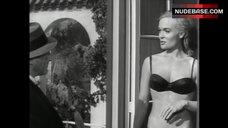 Shirley Eaton in Sexy Black Bikini – The Girl Hunters