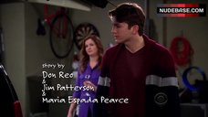 2. Aly Michalka Decollete – Two And A Half Men