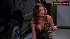 Aly Michalka Decollete – Two And A Half Men