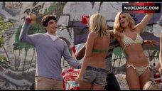 Aly Michalka Dancing in Bikini – Grown Ups 2