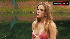 Danielle Panabaker in Bikini Top – Piranha 3Dd