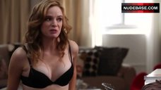 Danielle Panabaker in Hot Lingerie – Necessary Roughness