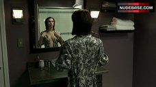 1. Christy Carlson Romano Full Nude in Shower – Mirrors 2