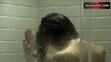 6. Christy Carlson Romano Full Nude in Shower – Mirrors 2