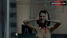 9. Christy Carlson Romano Boobs Scene – Mirrors 2