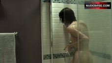 10. Christy Carlson Romano Shows Breasts and Butt – Mirrors 2