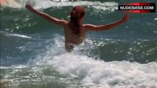10. Christy Carlson Romano Bikini Scene – The Cutting Edge: Going For The Gold