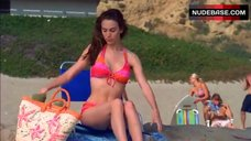 2. Christy Carlson Romano Bikini Scene – The Cutting Edge: Going For The Gold
