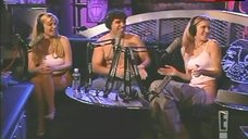 5. Robin Quivers Shows White Bra – The Howard Stern Show