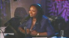9. Robin Quivers Shows White Bra – The Howard Stern Show